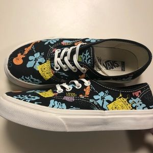 Vans Vault Youth Spongebob Squarepants Authentics